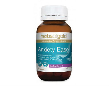 Herbs Of Gold Anxiety Ease Review - For Relief From Anxiety And Tension