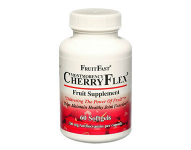 CherryFlex Review - For Relief From Gout