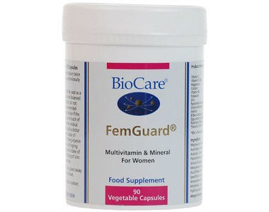 BioCare FemGuard Review - For Symptoms Associated With Menopause.