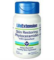 Life Extension Skin Restoring Phytoceramides Review - For Reducing The Appearance Of Scars