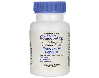Swanson Homeopathy Menopause Formula Review - For Relief From Symptoms Associated With Menopause