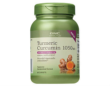 GNC Herbal Plus Turmeric Curcumin Review - For Improved Overall Health
