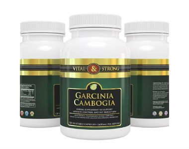 Vital & Strong Pure Garcinia Cambogia Weight Loss Supplement Review