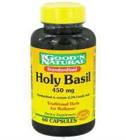 Good 'N Natural Holy Basil Review - For Improved Overall Health