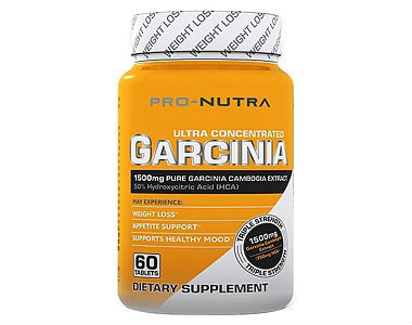 Pro-Nutra Garcinia Cambogia Weight Loss Supplement Review