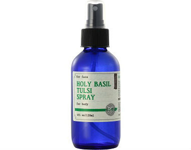 RG Apothecary Holy Basil Tulsi Spray Review - For Improved Overall Health