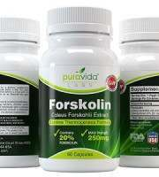 PuraVida Labs Forskolin Thermogenesis Formula Weight Loss Supplement Review