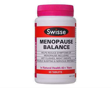 Swisse Ultiboost Menopause Balance Review - For Relief From Symptoms Associated With Menopause