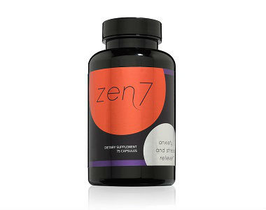 Zen7 Natural Anxiety Review - For Relief From Anxiety And Tension