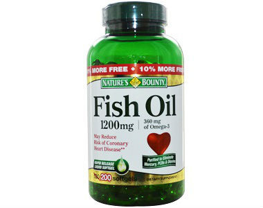 Nature's Bounty Fish Oil Review - For Cognitive And Cardiovascular Support
