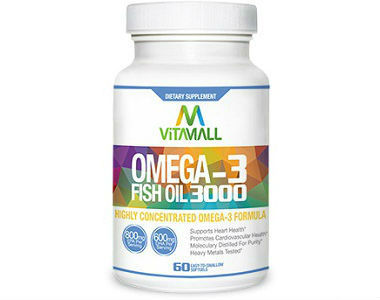 Omega-3 Fish Oil VitaMall Review - For Cognitive And Cardiovascular Support