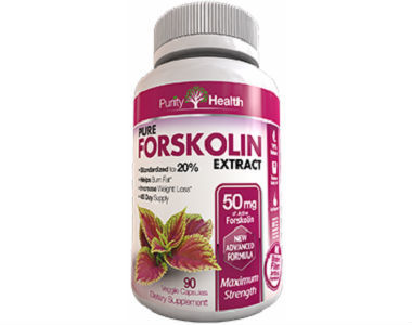 Purity Health Pure Forskolin Weight Loss Supplement Review