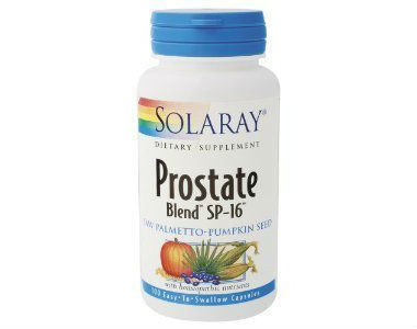 Solaray SP-16 PROSTATE BLEND Review - For Increased Prostate Support