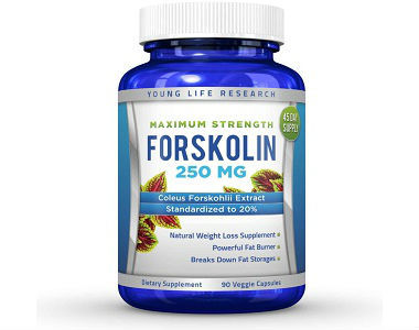 All Natural Forskolin Maximum Strength Weight Loss Supplement Review