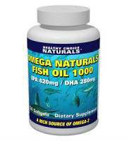 Healthy Choice Naturals Natural Fish Oil Review - For Cognitive And Cardiovascular Support