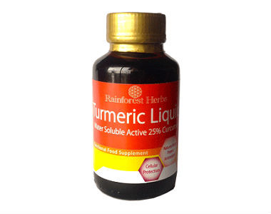 Rainforest Herbs Turmeric Liquid Review - For Improved Overall Health