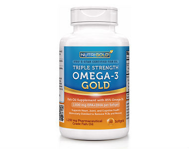 NutriGold Triple Strength Omega-3 GOLD Review - For Cognitive And Cardiovascular Support