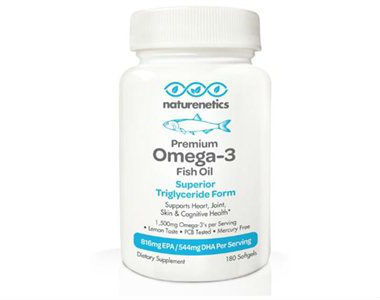 Naturenetics Premium Omega 3 Fish Oil Review - For Cognitive And Cardiovascular Support