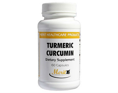 Merit Healthcare Products Turmeric Curcumin Review - For Improved Overall Health