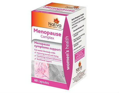 Nativa Menopause Complex Review - For Symptoms Associated With Menopause