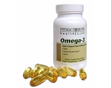 Potomac Health Omega-3 Review - For Cognitive And Cardiovascular Support
