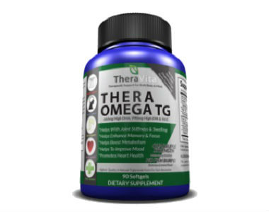 Thera Omega TG by Thera Vita Review - For Cognitive And Cardiovascular Support