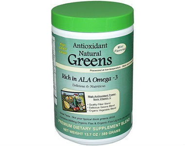 Tropical Greens Antioxidant Omega-3 Greens Review - For Cognitive And Cardiovascular Support