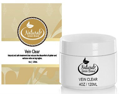 Vein Clear Natural Green Brand Review - For Reducing The Appearance Of Varicose Veins