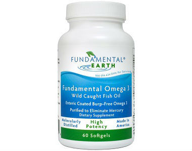 Fundamental Earth High Potency Omega-3 Review - For Cognitive And Cardiovascular Support