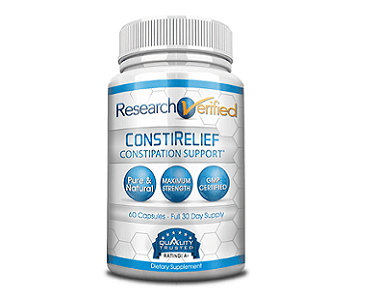 Research Verified ConstiRelief Review - For Relief From Constipation