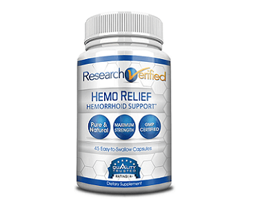 Research Verified HemoRelief Review - For Relief From Hemorrhoids