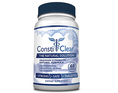 Consumer Health ConstiClear Review - For Relief From Constipation