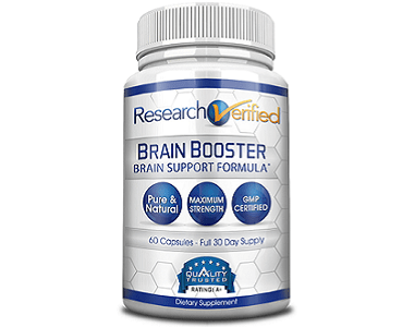 Research Verified Brain Booster Review - For Improved Cognitive Function And Memory