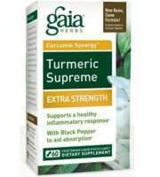 Gaia Herbs' Turmeric Supreme Extra Strength Review