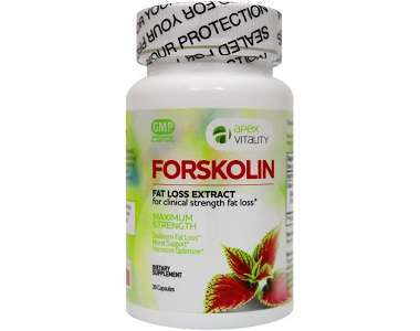 Apex Vitality Forskolin Weight Loss Supplement Review