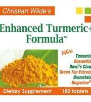 Christian Wilde's Enhanced Turmeric Formula Review