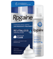 Men's Rogaine Unscented Foam Review - For Dull And Thinning Hair