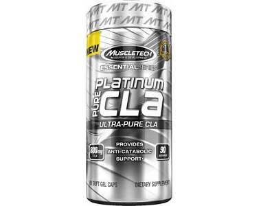 MuscleTech Platinum Pure CLA Weight Loss Supplement Review
