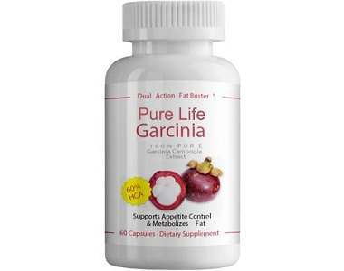 Pure Life Garcinia Cambogia Weight Loss Supplement Review