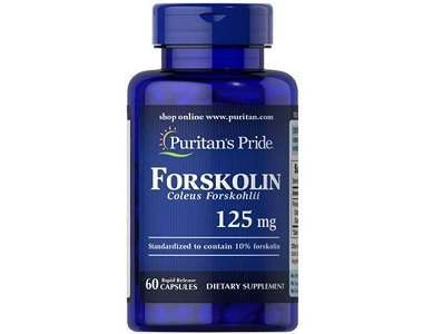 Puritan's Pride Forskolin Coleus Forshkolii Weight Loss Supplement Review