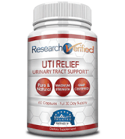 Research Verified UTI Relief Review - For Relief From Urinary Tract Infections