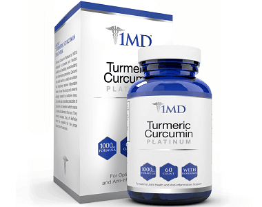 1MD Turmeric Curcumin Review - For Improved Overall Health