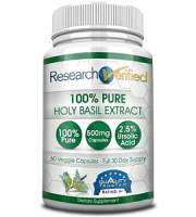 Research Verified Holy Basil Extract Review - For Improved Overall Health