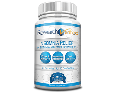 Research Verified Insomnia Relief Review - For Restlessness and Insomnia