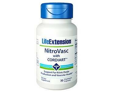 Life Extension NitroVasc with Cordiart Review - For Increased Muscle Strength And Performance