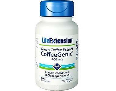 Life Extension CoffeeGenic Green Coffee Extract Weight Loss Supplement Review
