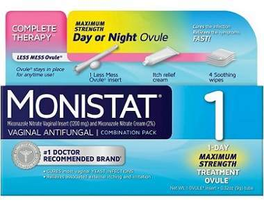 Monistat Vaginal Antifungal Less Mess Ovule Review