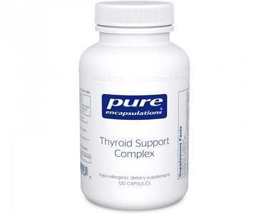 Pure Encapsulations Thyroid Support Complex Review - For Increased Thyroid Support