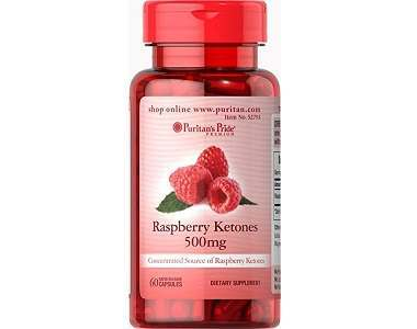 Puritan's Pride Raspberry Ketones Review - For Weight Loss