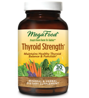MegaFood Thyroid Strength Review - For Increased Thyroid Support